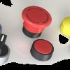 Кнопки конроля и сигнализации